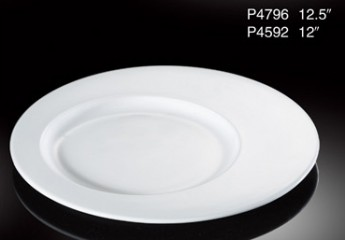 Oval Plate 12.5